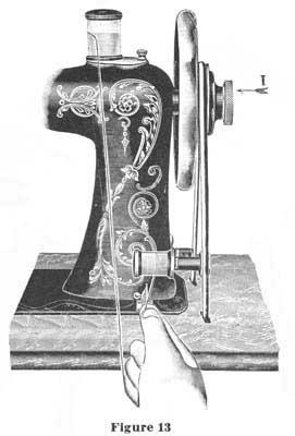 eldredge two spool sewing machine