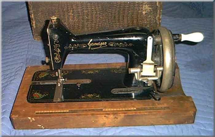 Haid Neu Gamages New Gamages Sewing Machine