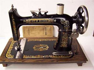 New Home Light Running Sewing Machine Value Treadle Sewing Machine